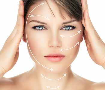 Image of a lady used Chemical peels