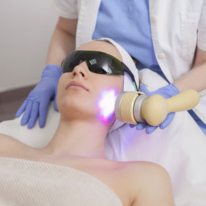 Laser skin resurfacing therapy ideal for the treatment of wrinkles in Huntington